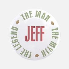 "Jeff Man Myth Legend 3.5"" Button (100 pack)"