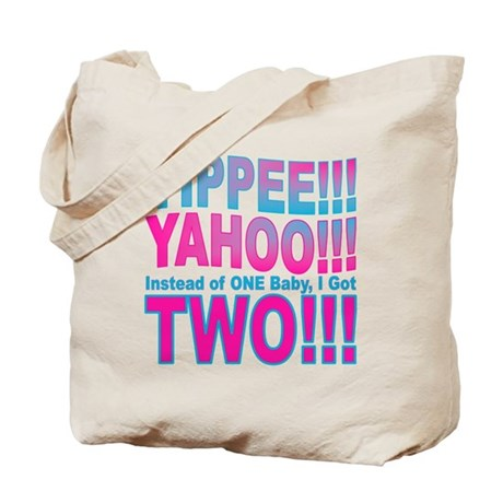 Yippee Twins - Babies Tote Bag