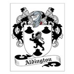 Aldington Family Crest Small Poster