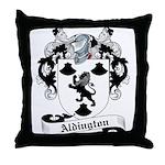 Aldington Family Crest Throw Pillow