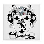 Aldington Family Crest Tile Coaster