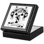 Aldington Family Crest Keepsake Box