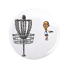 """Disc golf 3.5"""" Button (100 pack)"""