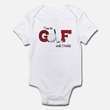 Time to Golf with Daddy Infant Bodysuit