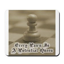Chess Quote Vintage 4 Mousepad