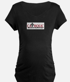 Catholic 2000 Years Maternity T-Shirt