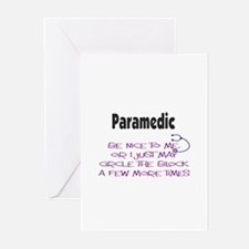 EMT/PARAMEDICS Greeting Cards (Pk of 20)