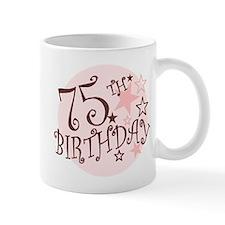 75TH BIRTHDAY Small Mug