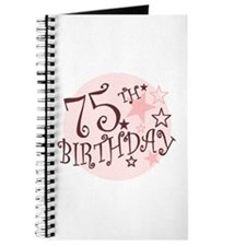 75TH BIRTHDAY Journal