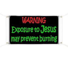 Christian Warning exposure Banner