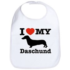 I love my Daschund Bib