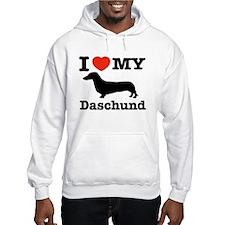 I love my Daschund Hoodie