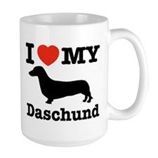 I love my Daschund Mug