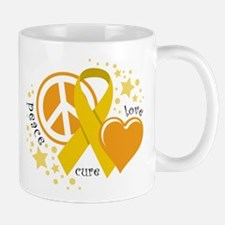 CC Peace Love Cure Mug