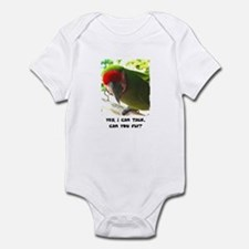 Can You Fly Military Macaw Infant Bodysuit