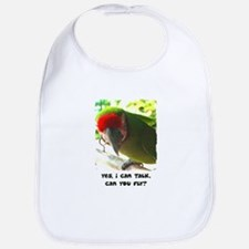 Can You Fly Military Macaw Bib