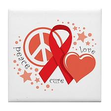HIV/AIDS PLC Tile Coaster