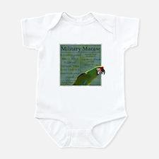 PW Military Macaw Infant Bodysuit