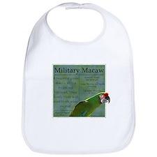 Parrot Wear Military Macaw Bib