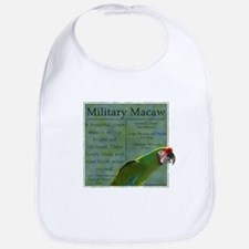 Parrot Wear Military Macaw Bib