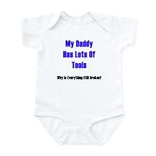 Unique Big daddys girl Infant Bodysuit