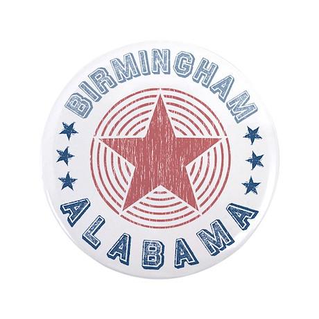 """Birmingham Alabama Souvenir 3.5"""" Button"""