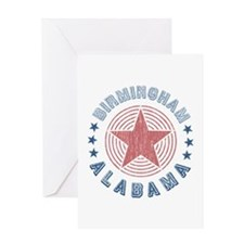 Birmingham Alabama Souvenir Greeting Card