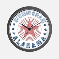 Birmingham Alabama Souvenir Wall Clock