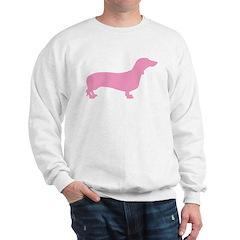 Pink Dachshund Sweatshirt