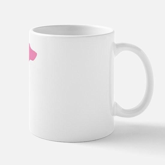 Pink Dachshund Mug