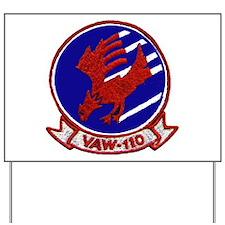 VAW 110 Firebirds Yard Sign