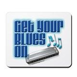 Blues music Mouse Pads