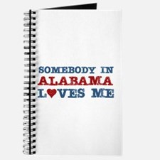 Somebody in Alabama Loves Me Journal