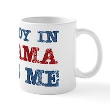 Somebody in Alabama Loves Me Small Mug