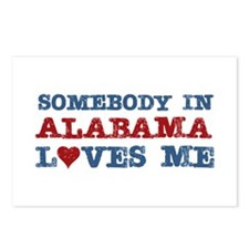 Somebody in Alabama Loves Me Postcards (Package of