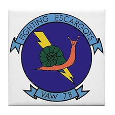 VAW 78 Fighting Escargots Tile Coaster