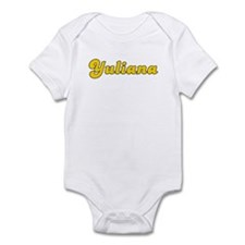 Retro Yuliana (Gold) Infant Bodysuit