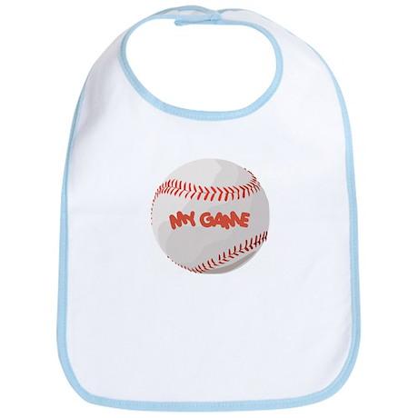 """My Game"" baseball Bib"