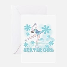 Skater Girl Greeting Card
