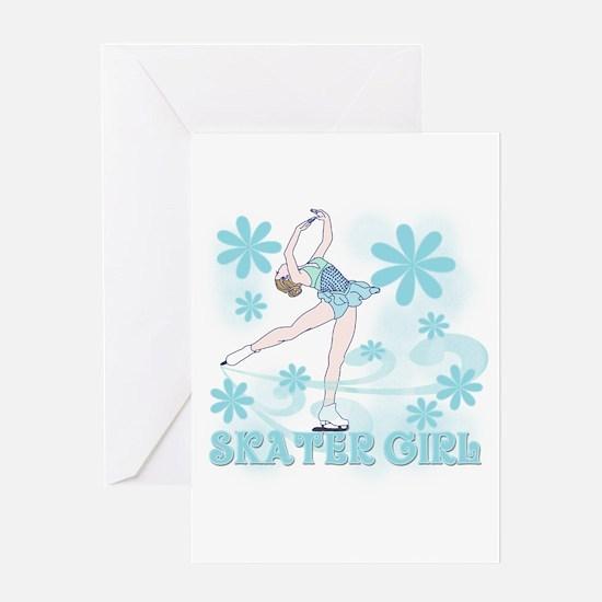 Skater Girl Greeting Card