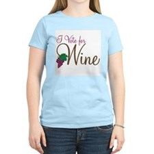 I Vote for Wine: Wmn's T