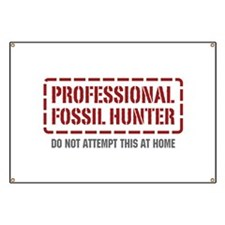 Professional Fossil Hunter Banner