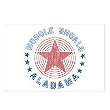 Muscle Shoals, Alabama Souvenir Postcards (Package