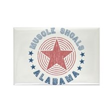 Muscle Shoals, Alabama Souvenir Rectangle Magnet