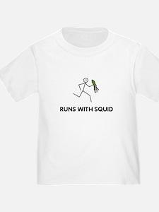 Funny Runs with scissors T