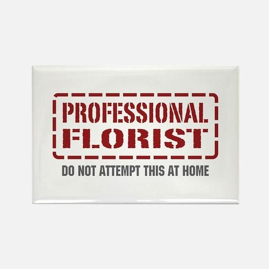 Professional Florist Rectangle Magnet