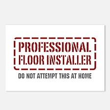 Professional Floor Installer Postcards (Package of