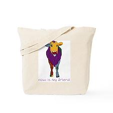 Cow Is My Friend Tote Bag