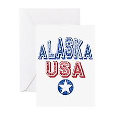 Alaska USA Souvenir Travel State Greeting Card