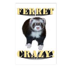 Ferret Crazy Postcards (Package of 8)